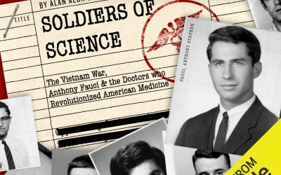 Kate Launches Soldiers of Science Podcast Co-Written with Alan Alda